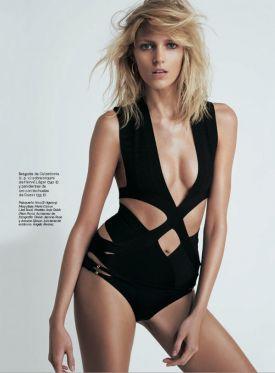 Anja Rubik dla S Moda | kwiecień 2013