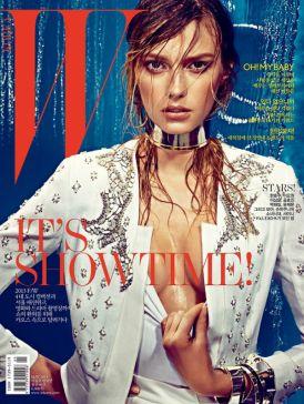 W Magazine - zobacz jak wygląda naprawdę mokra sesja!