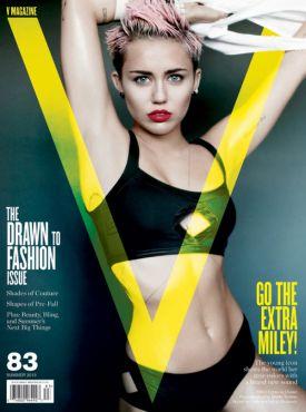 Miley Cyrus w obiektywie Mario Testino | V Magazine