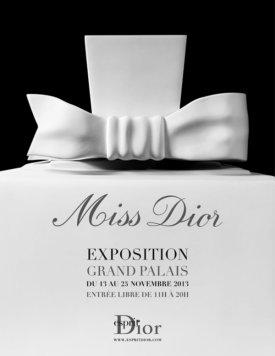 Wystawa Miss Dior w Grand Palais / 13-26. listopada '13