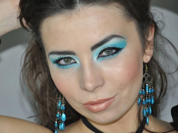 Makijaż W Stylu Bollywood Cekinpl