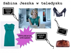 Sabina Jeszka w sukience Vissavi