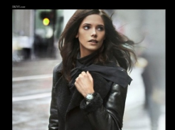 Ashley Greene w jesiennej kampanii DKNY