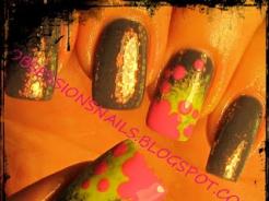 Krok Po Kroku Limonkowo- Różowy Manicure