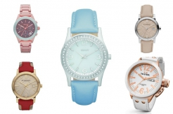 Modne zegarki z okrągłą tarczą